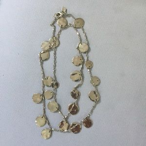 Sequin Gold Long Necklace